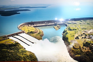 Itaipu dam images, screen savers and pics, 7 wonders of the world free downlaod