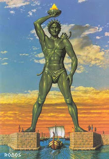 Colossus of Rhodes beautiful images, Greek
