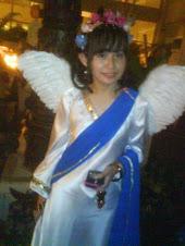 Kostum Dewi Aphrodite - Laura di Kalimantan