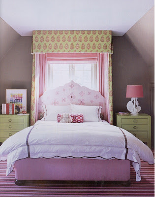 Painting Ideas For Girl's Bedroom Single solid colors: Besides pink,
