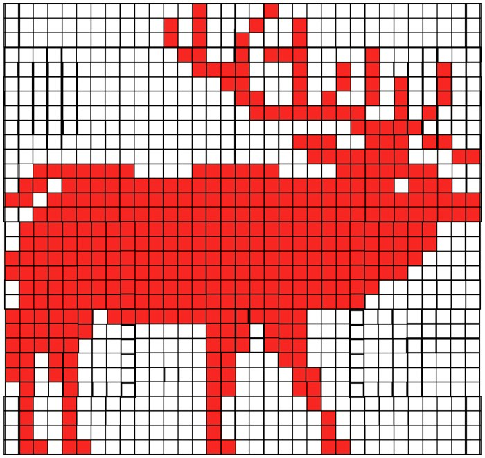 Knitting Pattern On Graph : Sandra Eterovic: A knitted horned beast of some sort