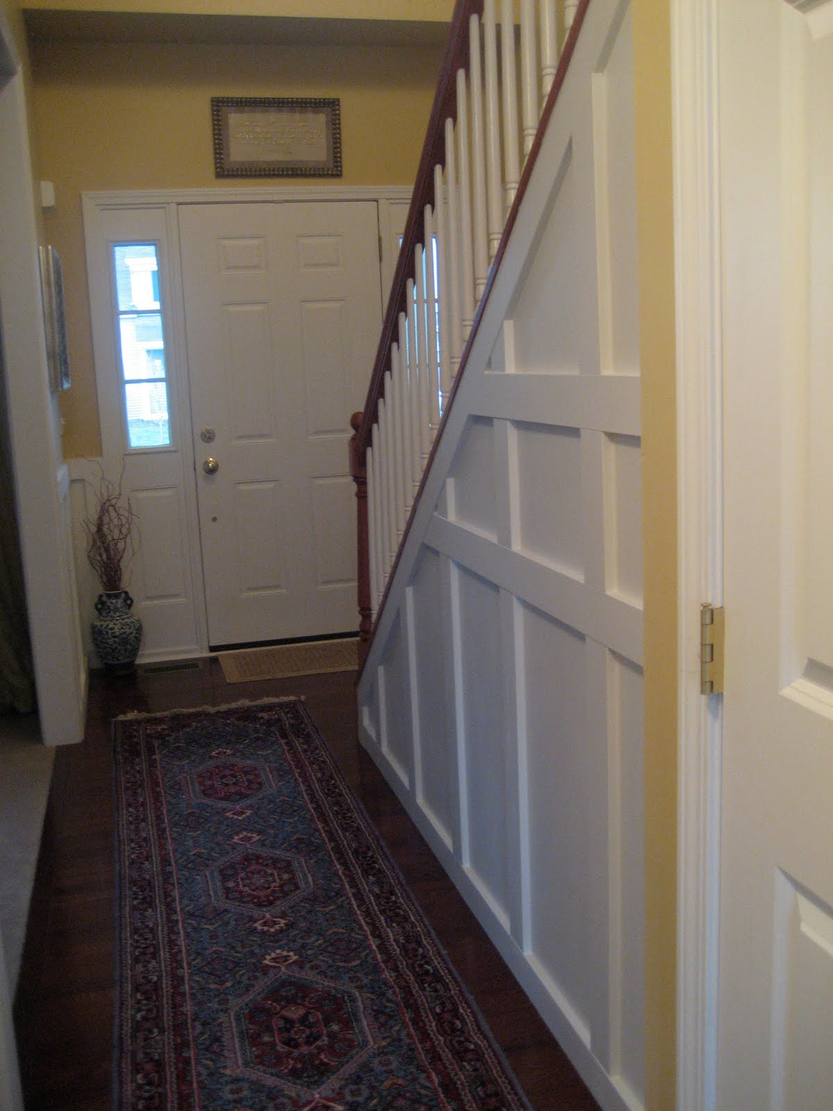 Wainscoting and picture frame molding diy show off diy wainscoting and picture frame molding diy show off diy decorating and home improvement blogdiy show off diy decorating and home improvement blog jeuxipadfo Images