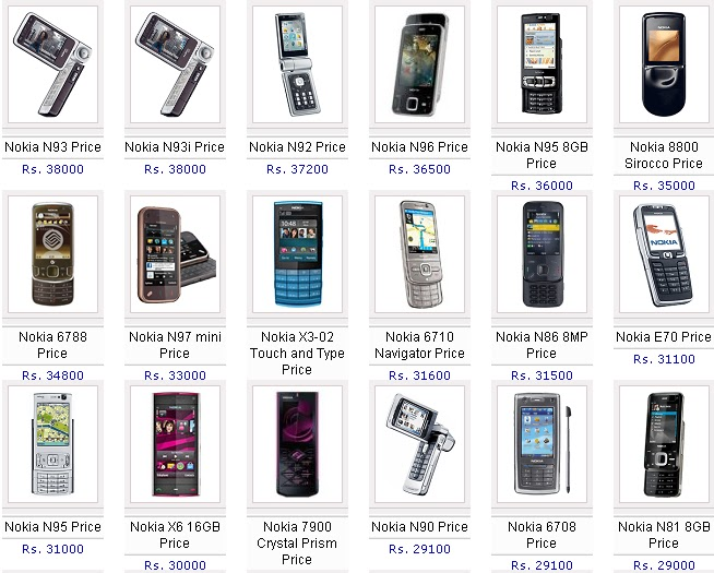 all nokia phones with prices all nokia mobiles with price