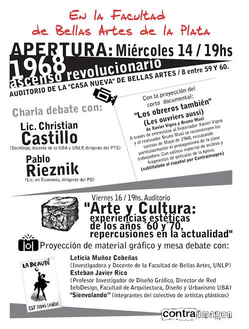 Las dos primeras actividades en La Plata