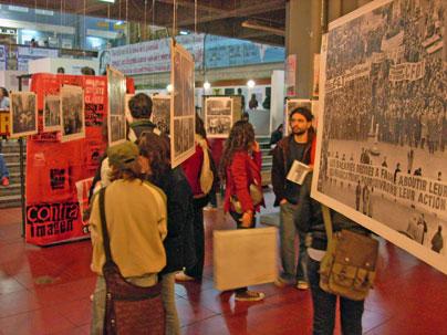 Exposición de Contraimagen en Ciudad Universitaria