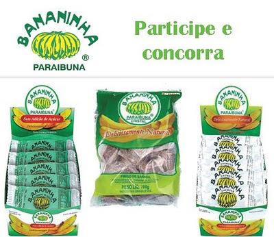 Concorra a kits doces bananinha paraibuna
