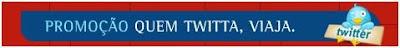 Promoção TAM que twitta viaja