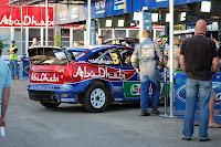 Hirvonen's car