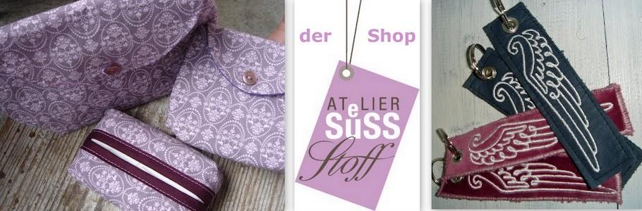 Atelier SUeSSstoff - der Shop