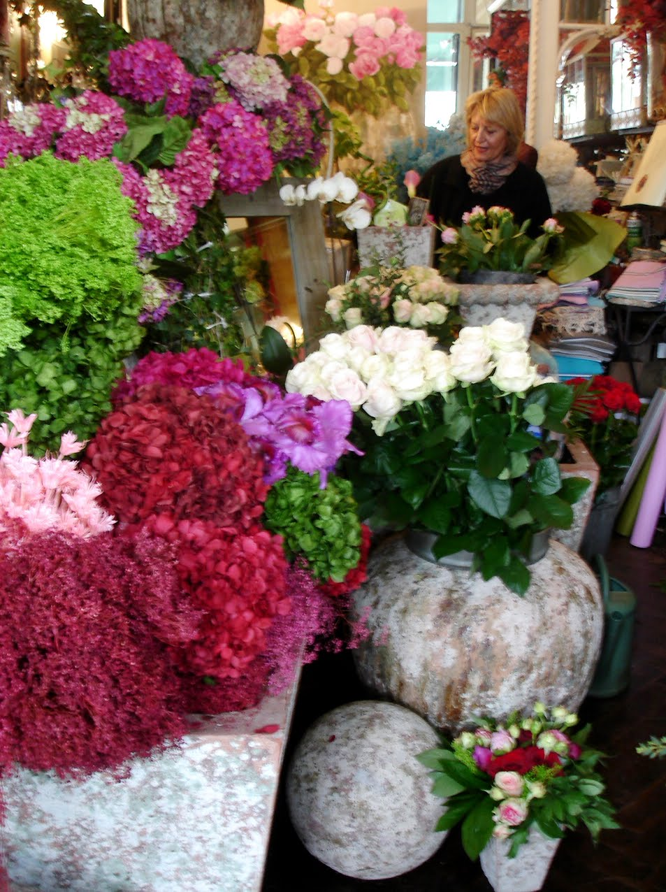 Bordeaux The Beautiful European Flower Shops Ultimate Technology