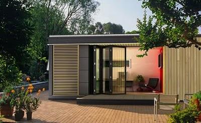 Bureau de jardin tout savoir sur les bureaux de jardin design co responsables abri de for Chalet de jardin de luxe