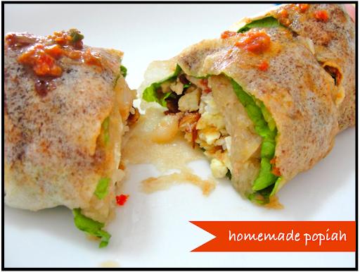 ... Penang: Mom's Recipe for Popiah (fresh spring rolls) 棒棒薄饼
