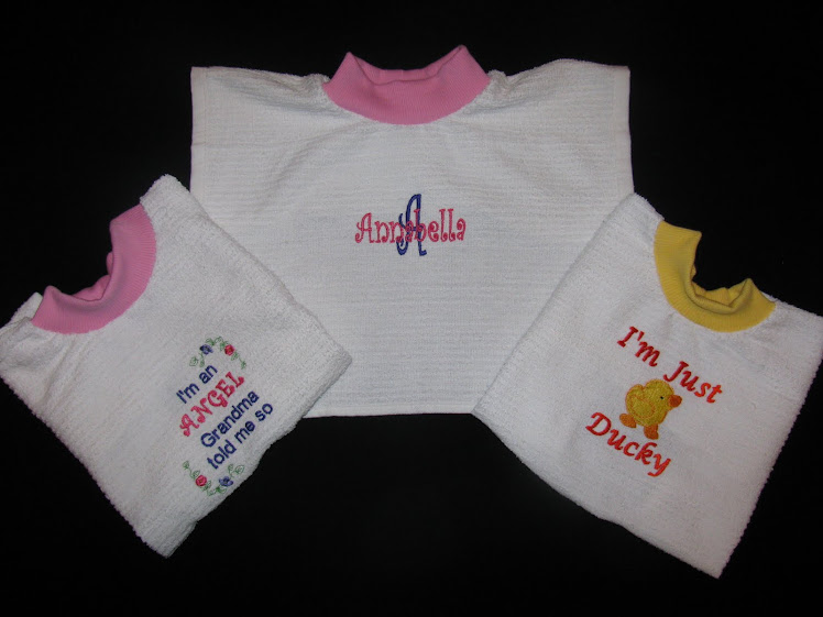 Toddler Coverall Bibs
