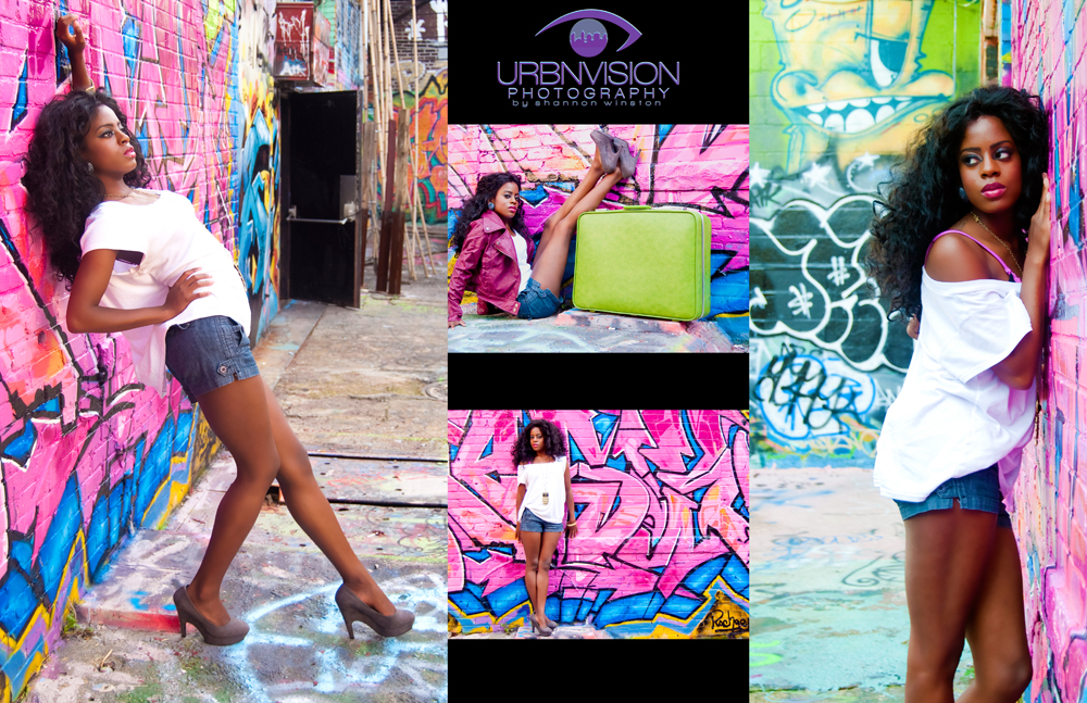 Urbnvision Photography Graffiti Alley Photoshoot 10 10 10