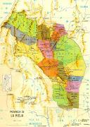 Situada en eñ oeste de la República Argentina la provincia de la Rioja . mapa la rioja