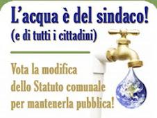 Proposte per la ripubblicizzazione del servizio idrico