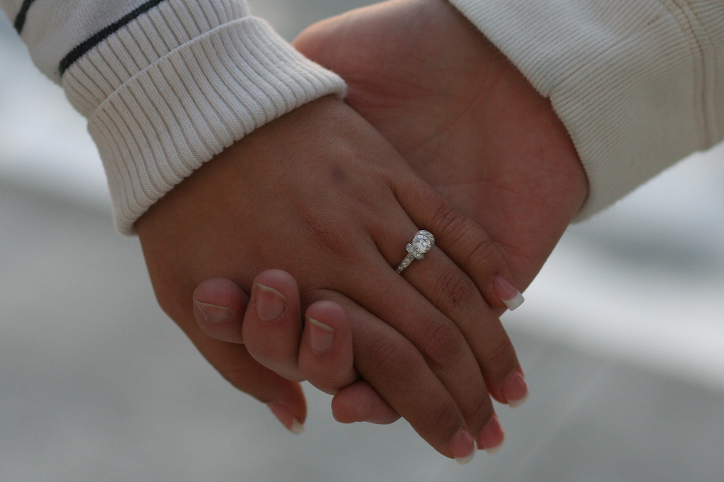 [ring+hand]