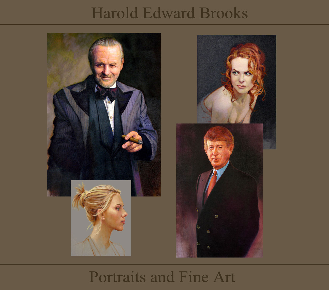 Harold Edward Brooks Portraits and Fine Art