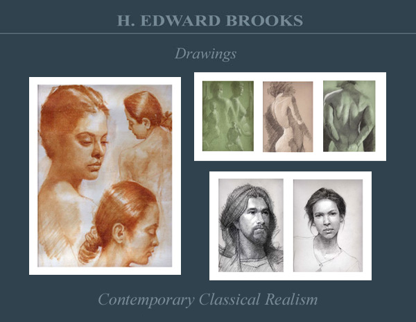 classical figure drawing and the contemporary realism of hedwardbrooks