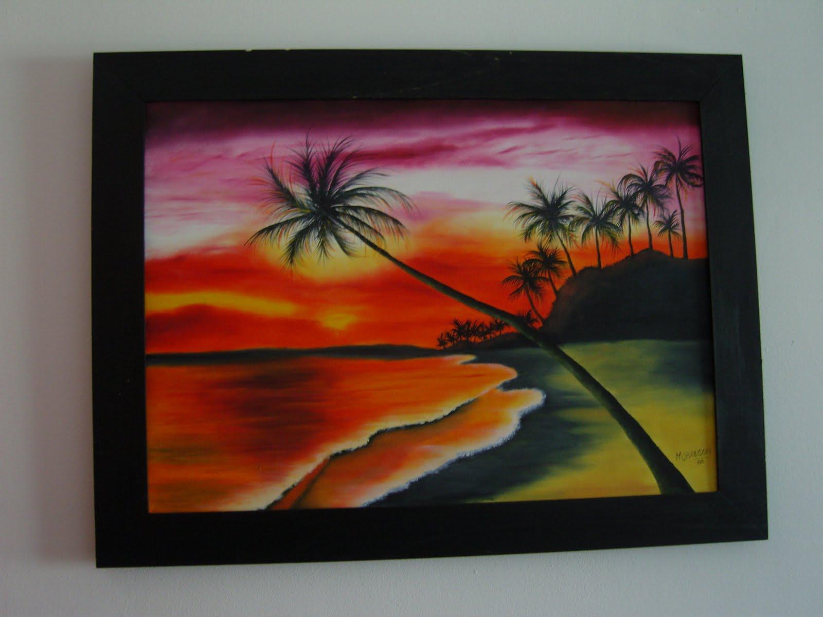 Manualidades cuadros pintados con oleo - Cuadros pintados con spray ...
