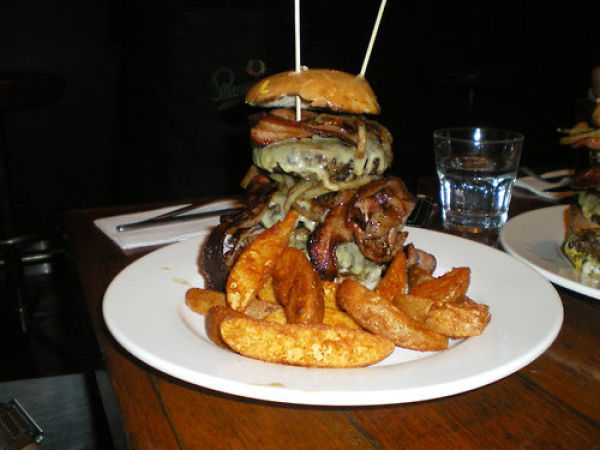 super-stack heart attack burger. Heart Attack Burgers quot;