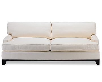 White sofa from Williams-Sonoma Home