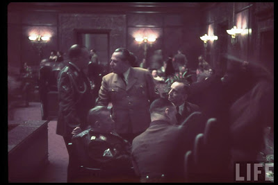 Party Receptions on Third Reich Color Pictures  Heinrich Hoffmann