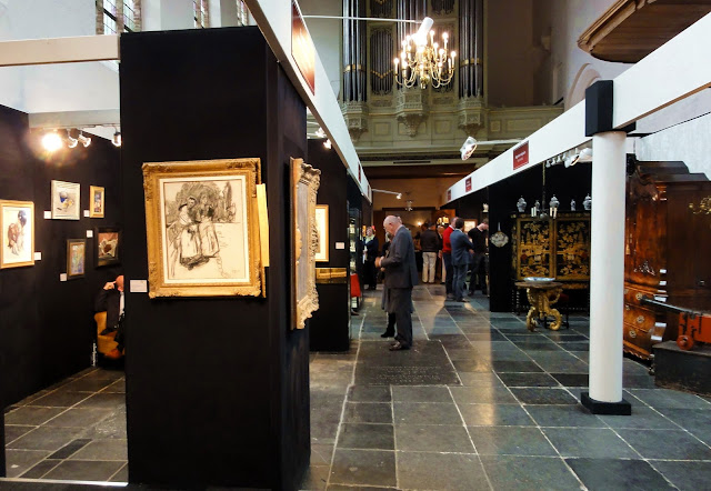 De Oude Kunst-  en Antiekbeurs is terug in Het Prinsenhof