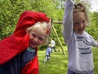 Anders' fødselsdag med skovbørnehaven 24.05.2002