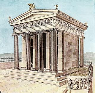 athena nike Η ιστορία του ναού της Αθηνάς Νίκης