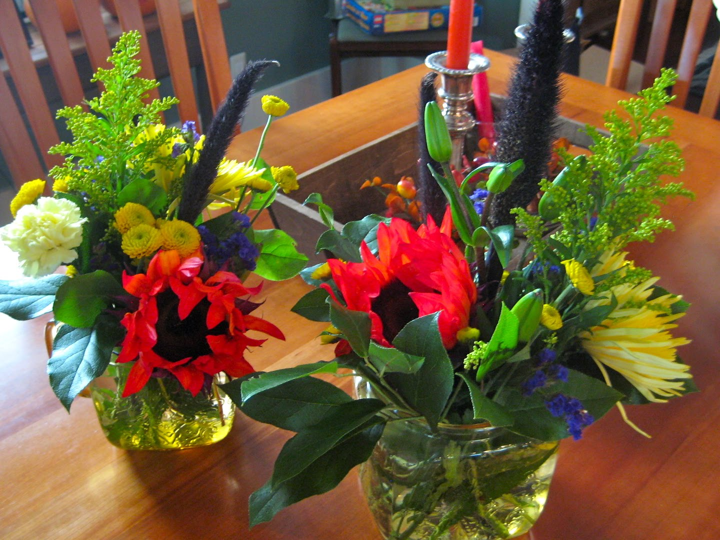 Karen B\'s Cooking Made Easy!: Thanksgiving Table Centerpiece Made ...