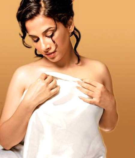 Vidya Balan's sensuous photo shoot in FHM Magazine