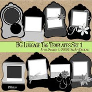 Luggage Tag Templates s1