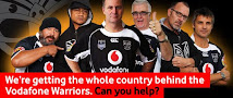 John Key and friends support the Warriors
