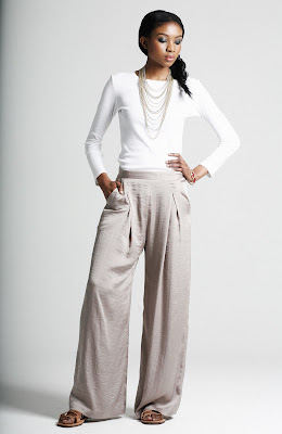 Maysaa wide leg trousers