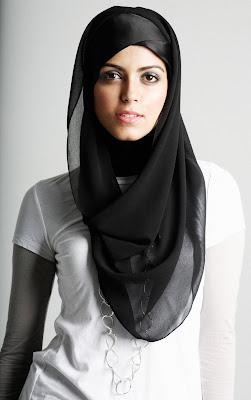 Maysaa chiffon scarf snood