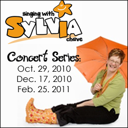 singing with sylvia concert series