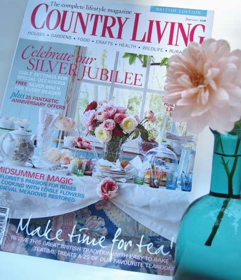Many Of Us Love To Come Across A Great New Tea Book, But I Am Here To Tell  You The June 2010 Issue Of Country Living, The British Edition, ...