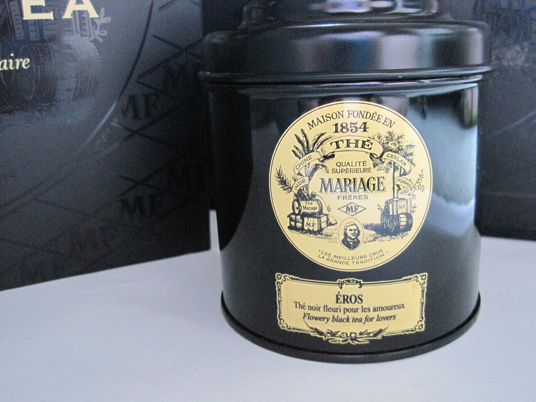 i steeped a cup of mariage frres eros tea the only one ive ever tried and settled in for the adventure - Mariage Freres Nancy