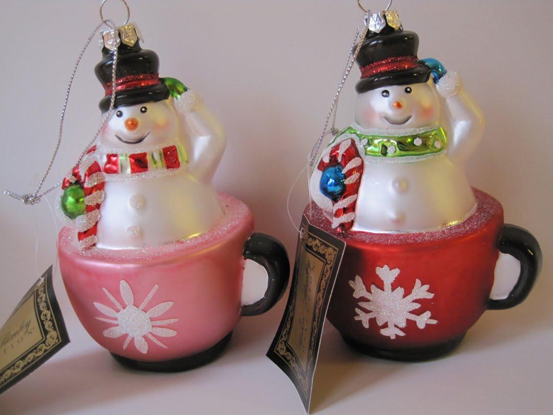 Hobby lobby glass ornaments - Hobby Lobby Teacup Ornaments