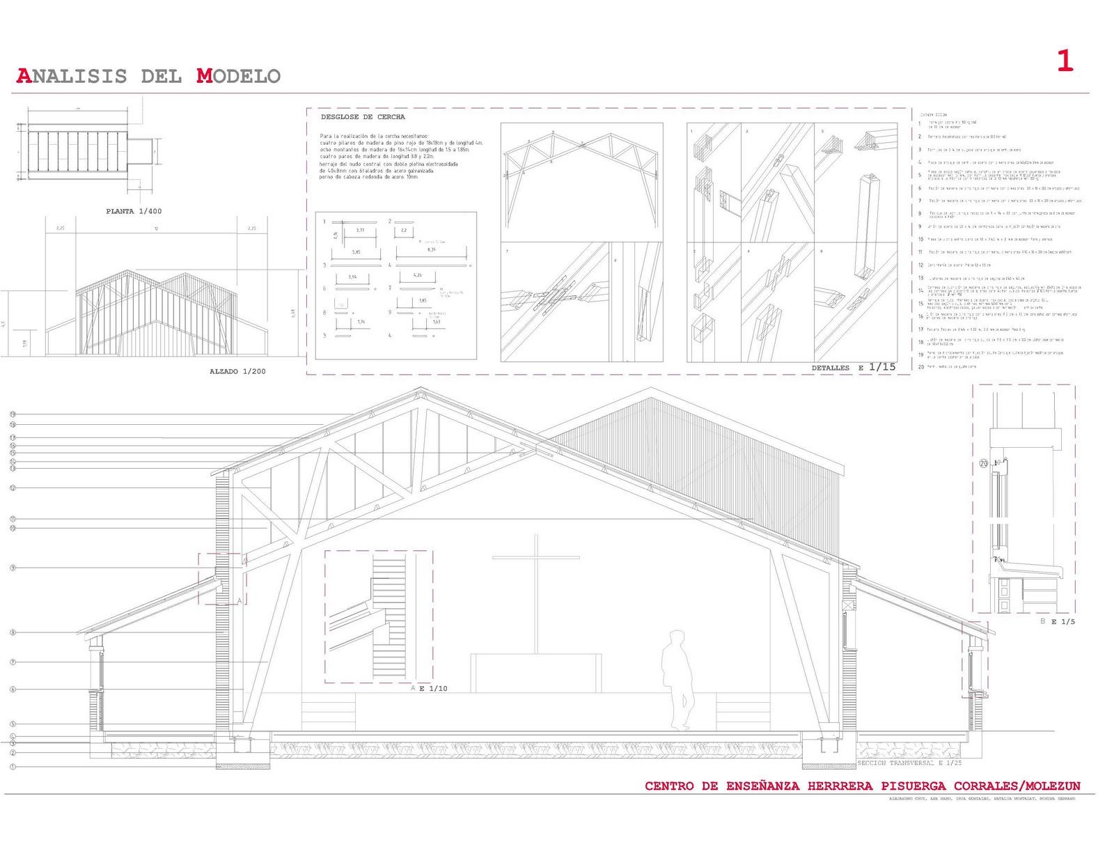 N 4 construccion estudio del gimnasio del centro de for Gimnasio del centro