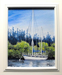 """A Day's Rest""  Framed - $ 175.00"
