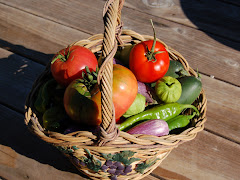 Fall Harvest from the Garden