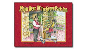 Major Bear at the Grove Park Inn by Donna Jones Koppelman