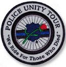 Police Unity Tour patch