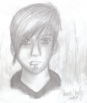 Drawing of Bob Bryar