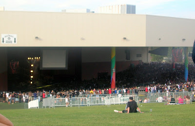 The stage at Dodge Music Center Hartford Connecticut