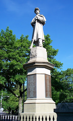 The Soldiers Monument, Norwich, CT