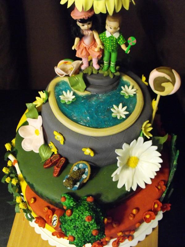 Wizard Of Oz Wedding Cake Sin Citysweets