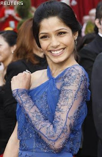 Freida Pinto wishes to star with Leonardo DiCaprio
